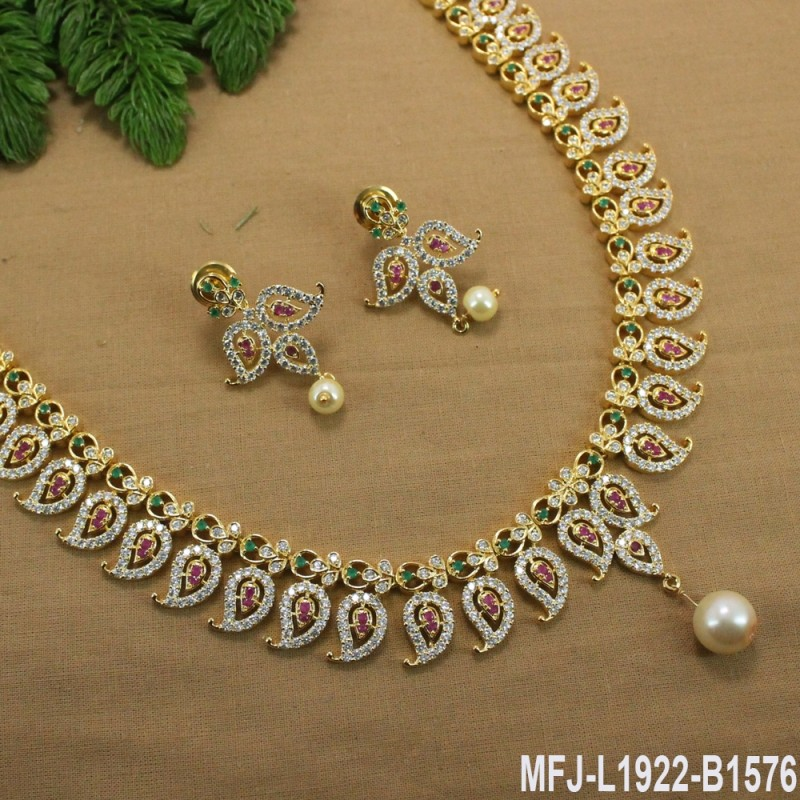 designer beads no set necklace model jewellery