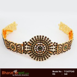 Antique Multi Colour Kundan Haram