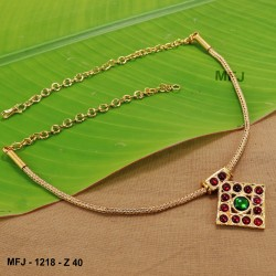 2.8 Size CZ, Ruby & Emerald Stones Designer Gold Plated Finish Two Set Bangles Buy Online
