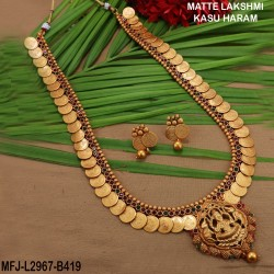 Ruby & Emerald Stones Thilakam Design With Pearls Mat Finish 3 Side Headset Buy Online