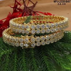 CZ, Ruby & Emerald Stones Peacock & Flowers Design Gold Plated Finish Two Step Necklace Set Buy Online