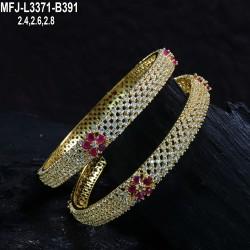 CZ, Ruby & Emerald Stones Designer With Gold Plated Finish Jumki Buy Online