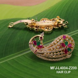 CZ, Ruby & Emerald Stones With Pearls Designer Mat Finish Choker Necklace Set Buy Online