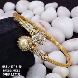 CZ, Ruby & Emerald Stones With Balls Drops Flowers & Leaves Design Mat Finish Haram Set Buy Online