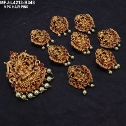 Ruby Stones With Pearls Drops Peacock Design Antique Hip Chain Buy Online