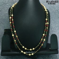 CZ & Ruby Stones Flowers & Drops Design Gold Plated Finish Choker Necklace Set Buy Online