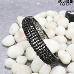 Kempu Stones Parrot Design With Balls Drops Mat Finish Jumki Buy Online