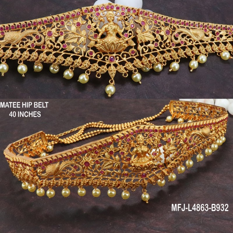2.8 Size Red & Green Colour Stones Flowers Design Gold Plated Finish Two Set Bangles Buy Online