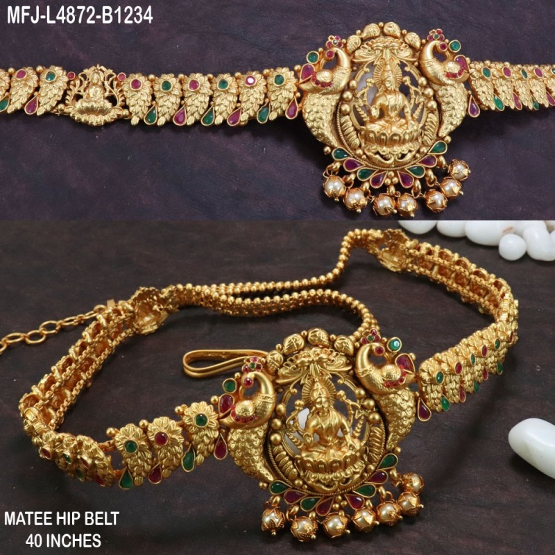 2.6 Size White, Red & Green Colour Stones Flowers Design Gold Plated Finish Four Set Bangles Buy Online