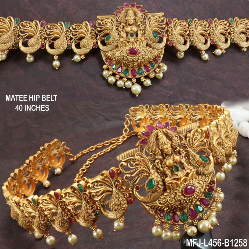 2.4 Size White, Red & Green Colour Stones Flowers & Balls Design Gold Plated Finish Two Set Bangles Buy Online