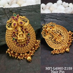 High Quality Kempu Stones With Balls Drops Designer Jhumki (for bharatanatyam dance also) Buy Online