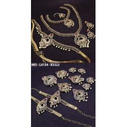 High Quality Kempu Stones Pearl Beads Temple Jumki - Kempu Stones Jumki - Dance Jewellery Buy Online
