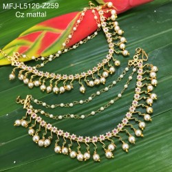 Kempu Stones With Pearls Mango & Flowers Design Necklace For Bharatanatyam Dance And Temple Buy Online