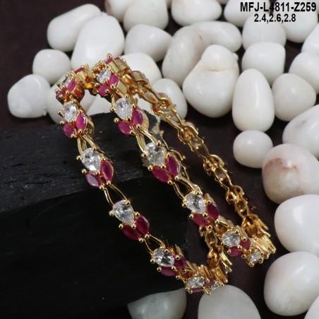 Ruby & Emerald Stones Mat Finish Flowers Design Kum Kum Box Buy Online