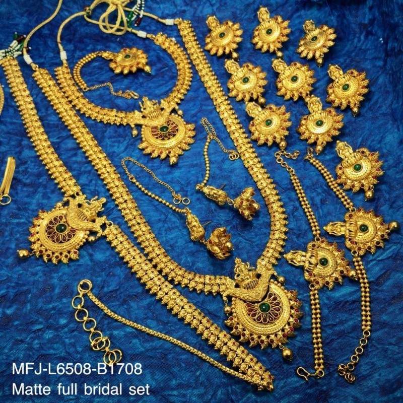 Antique Balls Design Double Step Chain Set Buy Online