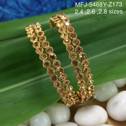 High Quality Kempu Stones With Pearls Flower Design Earrings For Bharatanatyam Dance And Temple Buy Online