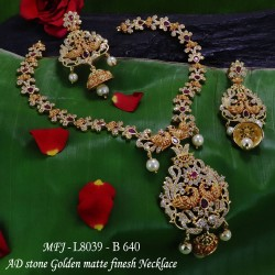 Ruby Stones Flowers & 3 Step Design Gold Plated Finish Jumki Buy Online