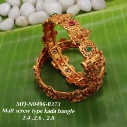 Kempu stones Mango & Flowers Design Necklace With Jumkis For Temple And Bharatanatyam Dance Buy Online