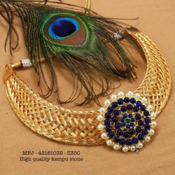 2.4 Size Rainbow Colour Stones Designer Gold Plated Finish Two Set Bangles Buy Online