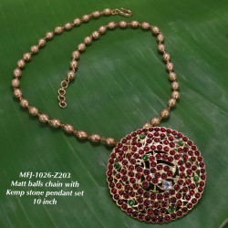 CZ,Ruby&Emerald Kempu Stones Mango Design Jumka For Bharatanatyam Dance And Temple Buy Online