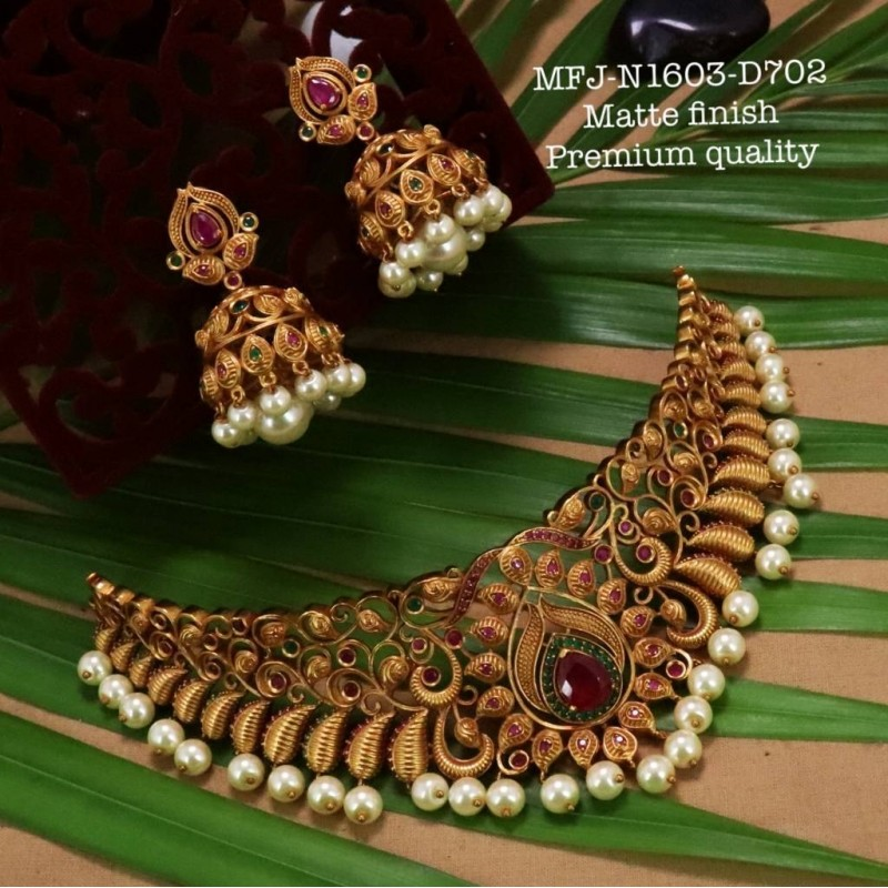 Green Colour Kempu Connector Stones Designed Golden Colour Polished Jewellery Making Bit(1pc Price) Online