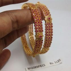 Temple Haram-Kempu Stone Haram -Dance Jewellery Online