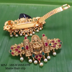 2.8 Size Wight Kempu Stones Thilakam Design Gold Plated Finish Two Pair Bangles Buy Online