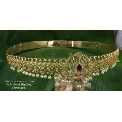 CZ,Ruby Stoned Flower With Peacock Design Matte Plated Finished Chokar Set Buy Online