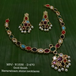 kempu Stones With Pearls Gold Plated Flower Design Oddiyanam For Bharatanatyam Dance And Temple Buy Online