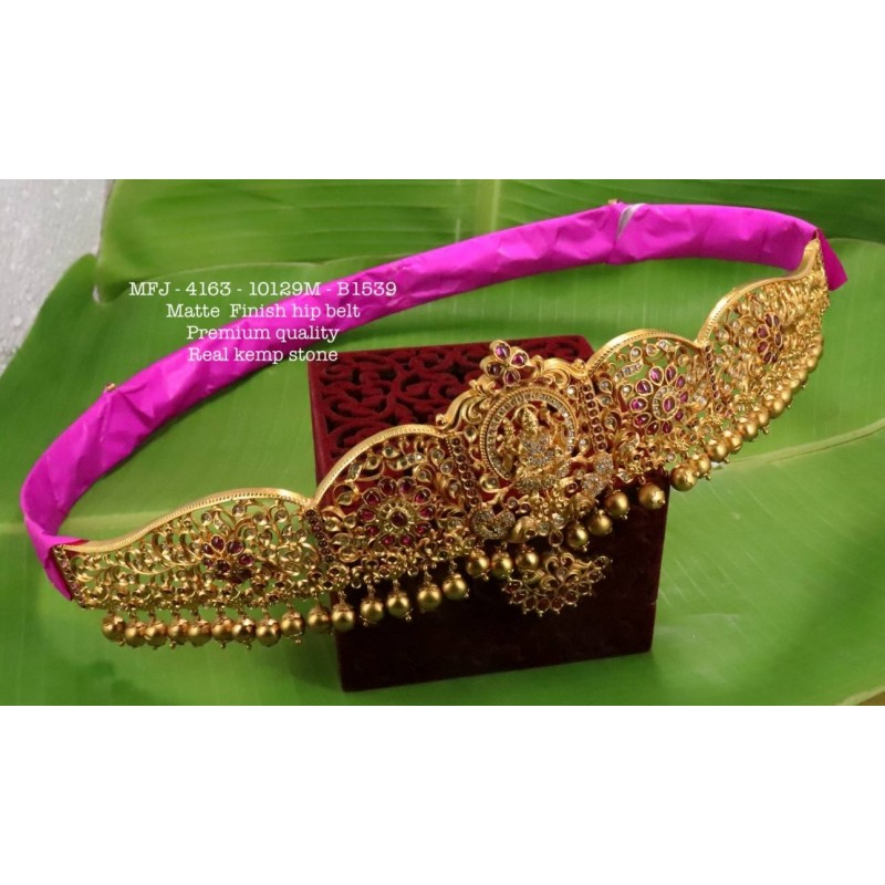 2.10 Size Ruby Stones Design Gold Plated Finish Set Bangles Buy Online