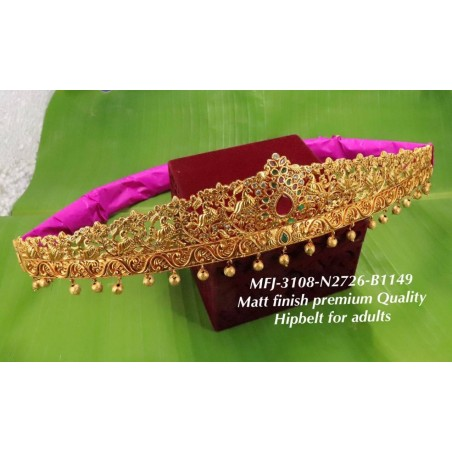 2.8 Ruby&Emerald Stoned Flower Designer Mat Finished Open Type Bangles Buy Online