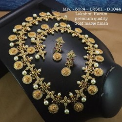 Ruby Stones Flower With Leafs Design Gold Plat Finished Necklace Buy Online