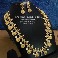 LCD(Honey) Stones Heart Shaped Flower Design Gold Plat Finished Necklace Buy Online