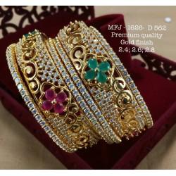 Ruby&Emerald Stones With Pearls Drops Lakshmi Design Mat Finish Hip Belt Buy Online
