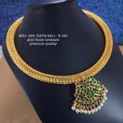 Ruby Stoned Pearls Lined Peacock With Jumki Design Mat Finish Mattel Set Buy Online