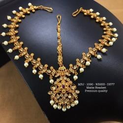 2.6 Sized Ruby,Emerald Stoned Lakshmi Designer Mat Screw Type Bangle Set Buy Online