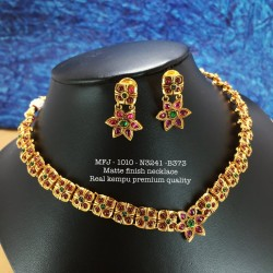 Wight Ad Stoned Gold Polished With White Polished Pendent Hanging Type Design Set Buy Online