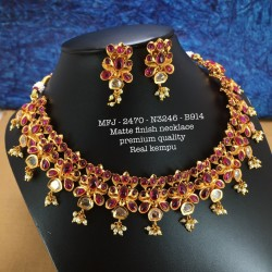 2.4 Size Ruby,Emerald Stones Kasu With Lakshmi Design Gold Plated Finish Set Bangles Buy Online
