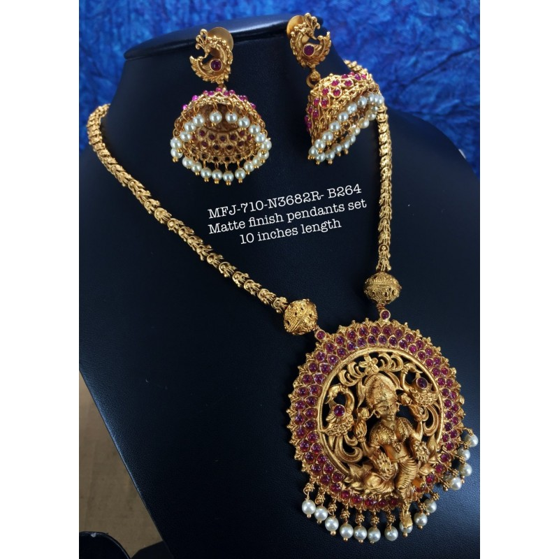 Kemp Wight,Green&Red Three Layer Stones With Pearls Design Jumka For Bharatanatyam Dance And Temple Buy Online