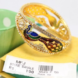 Elegant Zircon & Single Ruby Stone Necklace & Earrings Set Online