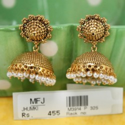 Pearl ,Red & Green Kempu stone Haram -Temple Haram -Dance Jewellery Online