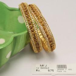 9 Pc Billai Braid Kemp Stones Hair Temple Ornament -Temple Jewellery -Dance Jewellery Online