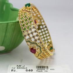 CZ, Ruby & Emerald Stones Jumki Online