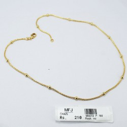 Mat Finish 8 Lines Chain For Pendant Online