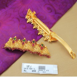 AD Stones Kunjalam End of Hair Paranda -Temple Jewellery -Dance Jewellery Online