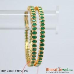 Emerald and Ruby stone designer neckset
