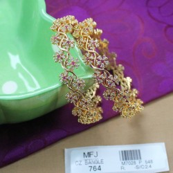 Ruby & Emerald Stones Earrings Online