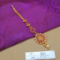 CZ & Emerald Stones Leaves Design Necklace Set Online