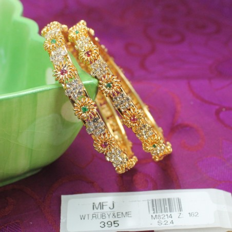 Kempu Stones Pearl Beads Temple Jumki - Kempu Stones Jumki - Dance Jewellery Buy Online