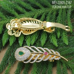 Emerald Stones With Pearl Drop Leaves & Thilakam Design Gold Plated Finish Jumki Buy Online